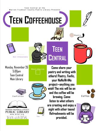 Teen Coffeehouse
