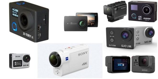 Топ-9 экшн-камер