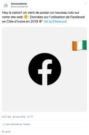 IFTTT pour publier sur Twitter