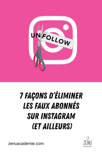 Comment éliminer les faux followers sur Instagram et sur les réseaux sociaux