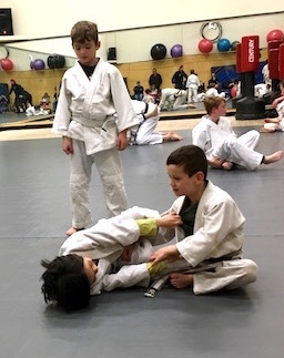 Children's Brazilian Jiu Jitsu Class in Baltimore Maryland
