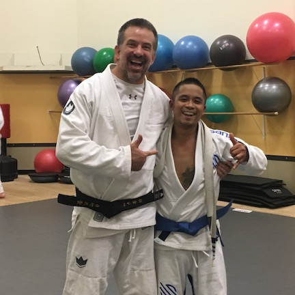 Zenyo Jiu Jitsu Baltimore Blue Belt