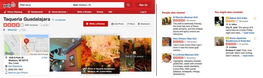 7 Sins of Restaurant Websites - no website