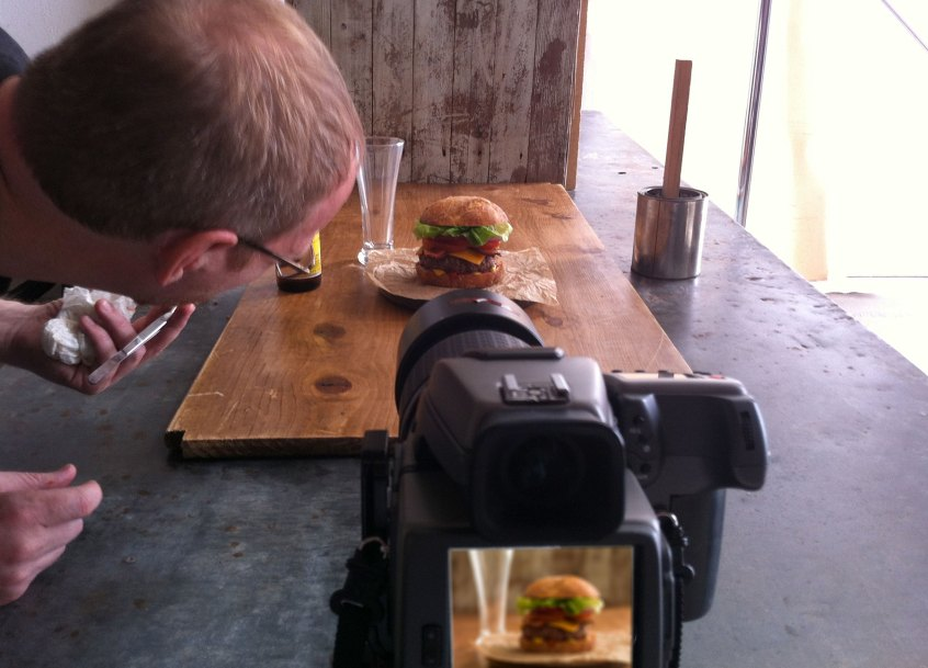Don Crossland - professional food and restaurant photographer