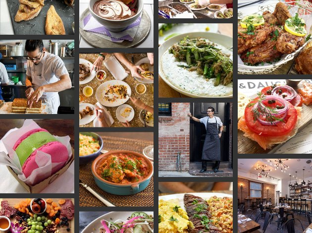 Food & Restaurant Photography collage