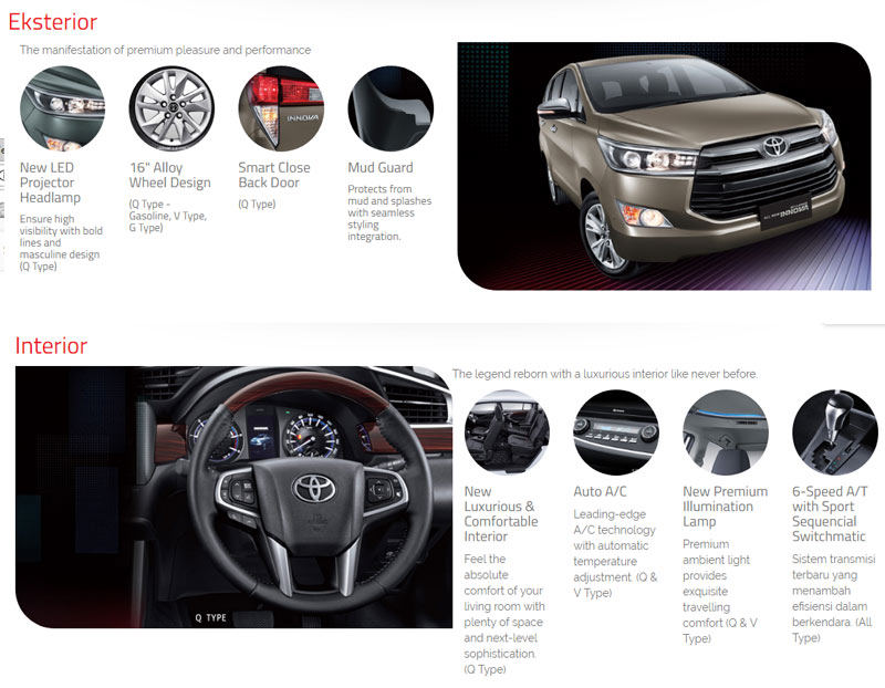 top speed all new kijang innova kelemahan grand veloz toyota perintis medan vehicle stability control more during acceleration and cornering