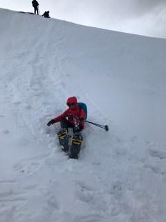 Advantage of going downhill: SLIDES