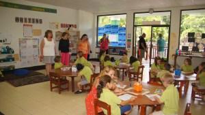 Visiting a private school in Costa Rica