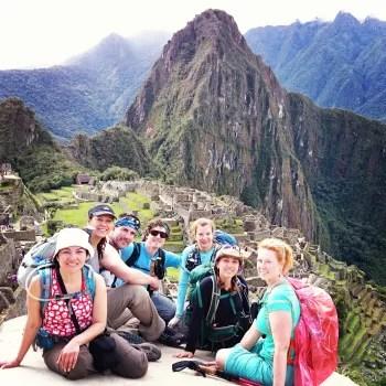 Inca Trail Earth Day at Machu Picchu