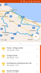 GPS on Bike Tour