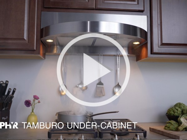 Zephyr Tamburo Under-cabinet Hood Ventilation Online