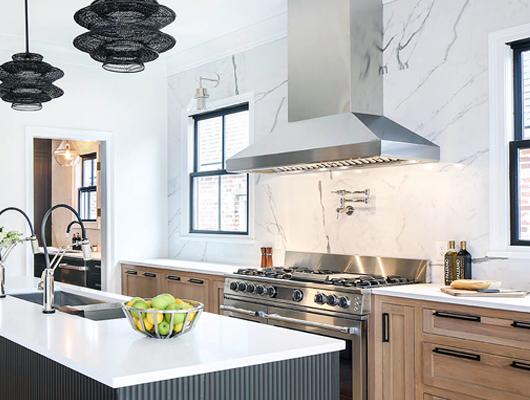 kitchen hood design counter height chairs range hoods ventilation wine cooler refrigeration zephyr titan with powerwave