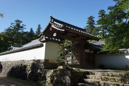 One of the monestary buildings in Engyoji