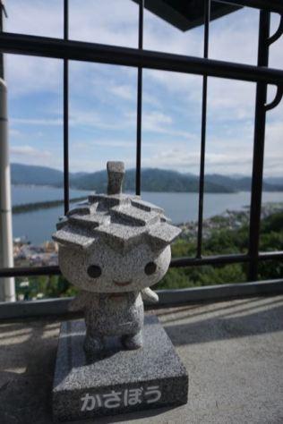 Mascot of Kasamatsu Park