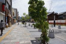 Main shopping street in Nara