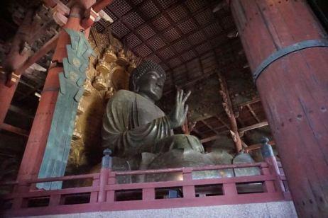 The Big Buddha in Daibutsuden