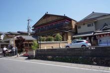 Streets of Arashiyama from the Rickshaw