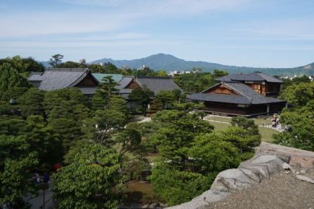 View of Hinmaru-goten Palace