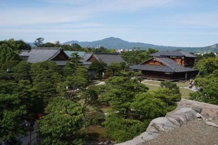 View of Hinmaru-goten Palace