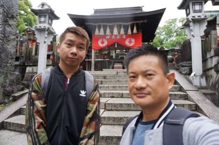 Finally we are at the top of Mt Inari