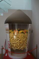 Gigantic exhibit of cup noodles