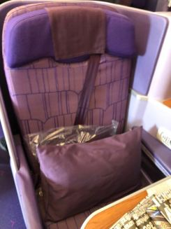 Thai Airways Business Class seat