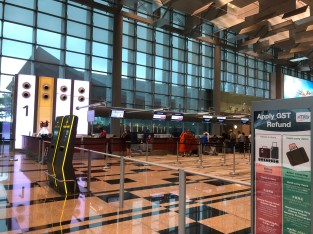 Malindo Air check-in counter are located in Row 1 of Terminal 3