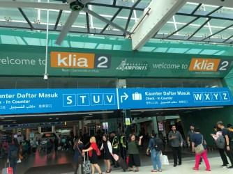 Jetstar departs from KLIA2