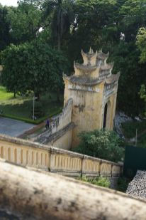 Part of the palace wall