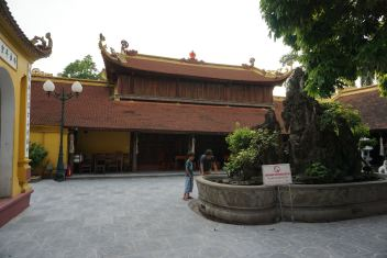 One of the temple complex