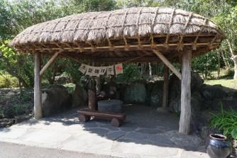 A typical Jejuan farm house