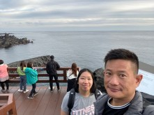 Wefie with Jusangjeolli Cliff