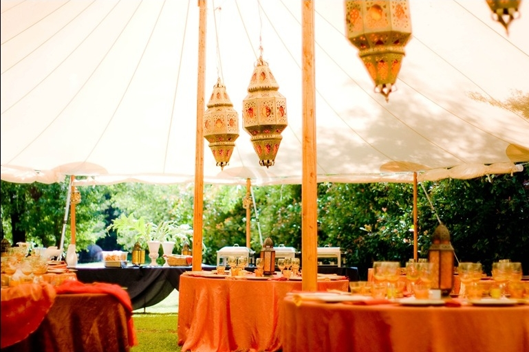 A Russian River Wedding with Moroccan Flair  ZephyrTents