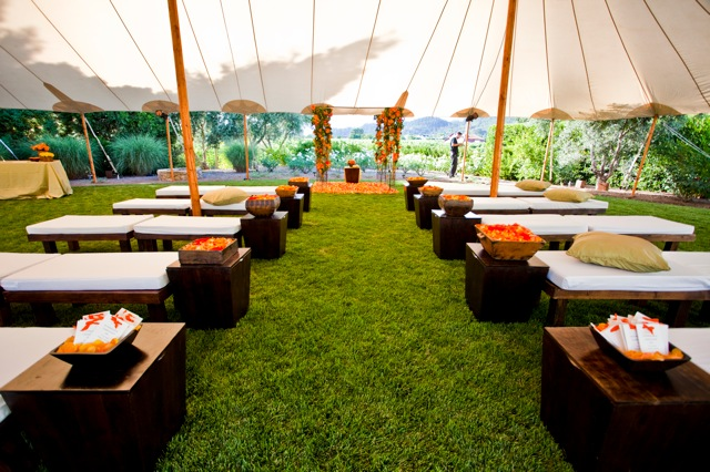 A Tent Creates An Outdoor Room For Your Wedding Ceremony