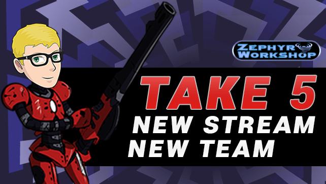 New Team, New Stream: December Take 5