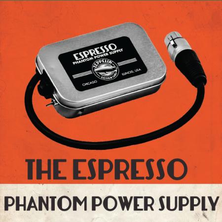 Espresso Portable Phantom Power Supply