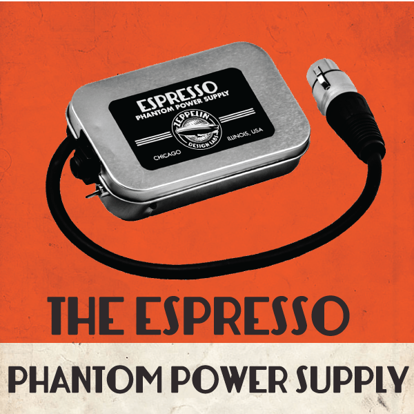 Espresso Portable Phantom Power Supply