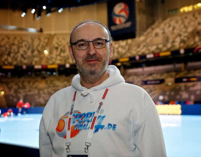 Frank Zepp – Handball EM 2020 – Tele 2 Arena Stockholm – Foto: Joachim Schütz (http://www.stregspiller.com)