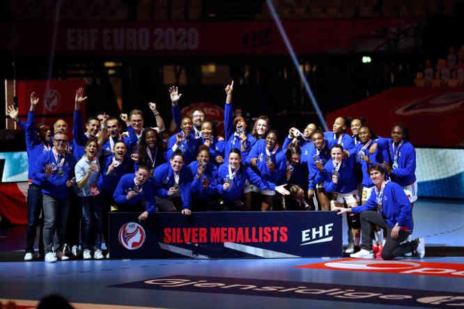 Handball EM 2020 Finale – Frankreich Silbermedaille – Copyright: FFHANDBALL-S.PILLAUD