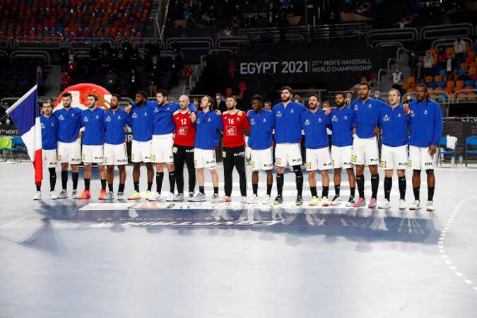 Handball WM 2021 - Frankreich vs Schweden - Copyright: FFHANDBALL / S.PILLAUD