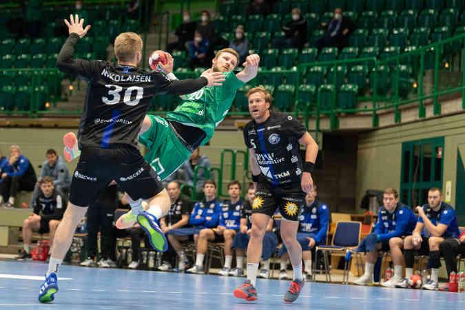 Handball Bundesliga: Bergischer HC vs. SC DHfK Leipzig – Foto: Klaus Trotter
