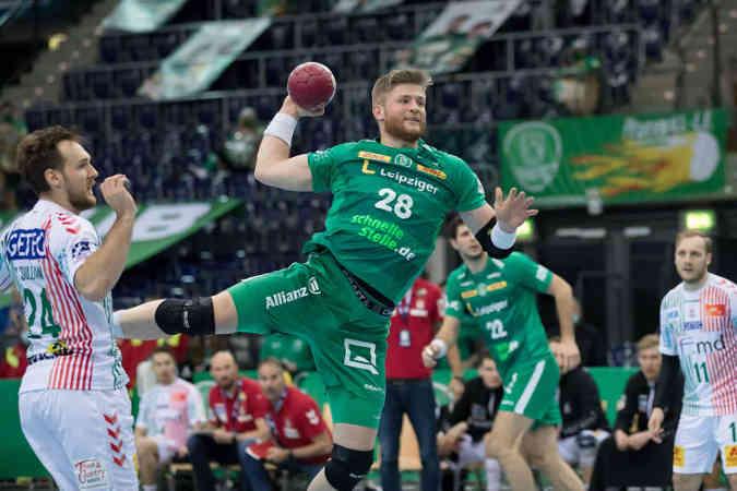 Maciej Gebala – SC DHfK Leipzig – Foto: Karsten Mann