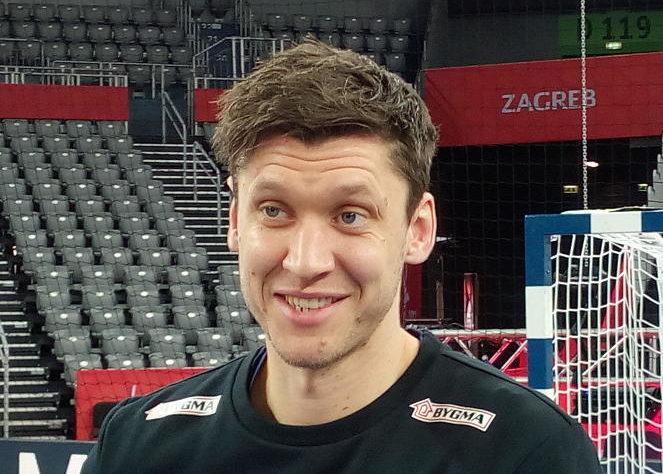 Handball EM 2018, Niklas Landin, Dänemark, Medientag, Arena Zagreb, SPORT4FINAL LIVE, Halbfinale, EHF EURO – Foto: SPORT4FINAL