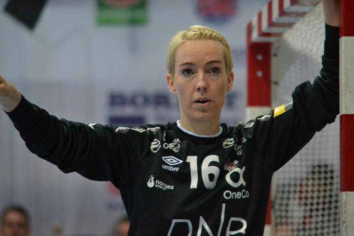 Katrine Lunde – Vipers Kristiansand – Thüringer HC vs. Kristiansand - Handball Champions League – 03.03.2019 Nordhausen – Foto: Hans-Joachim Steinbach