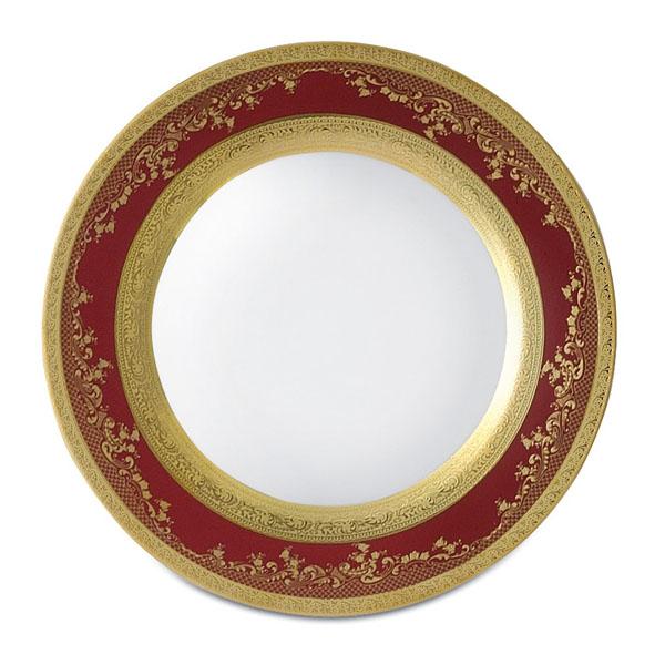 Фарфор Royal Gold - Тарелки для Хлеба 17 cм Бордо (6 Единиц) от Цептер