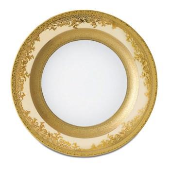 Фарфор Royal Gold - Тарелки для Хлеба 17 cм Кремовые (6 Единиц) от Цептер