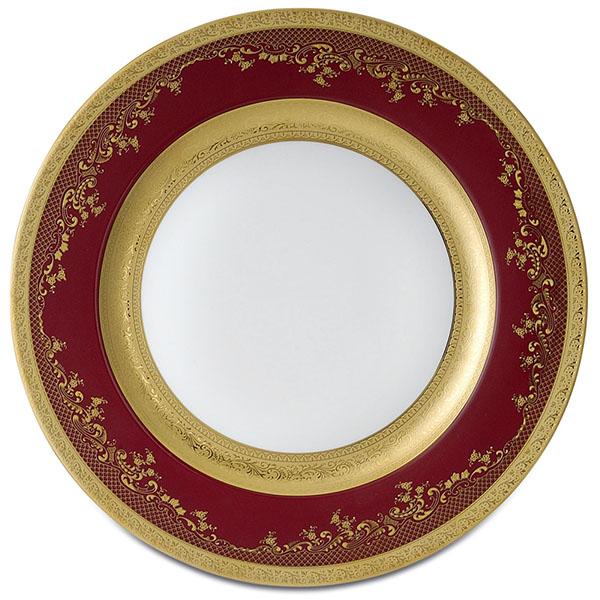 Фарфор Royal Gold - Подставки под тарелки 32 cм Бордо (6 Единиц) от Цептер