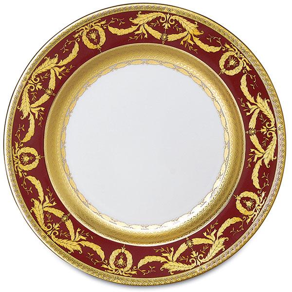 Фарфор Imperial Gold - Салатники 19 см Бордо (6 Единиц) от Цептер