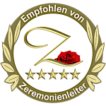 Empfohlen von Zeremonienleiter