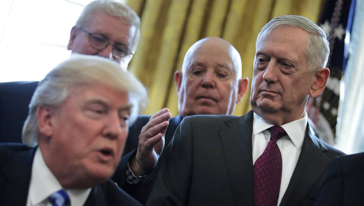 Chaos à la Maison Blanche.